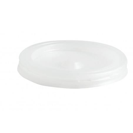Tapa de Plastico PS Vaso 80/100ml Ø5,7cm (100 Uds)