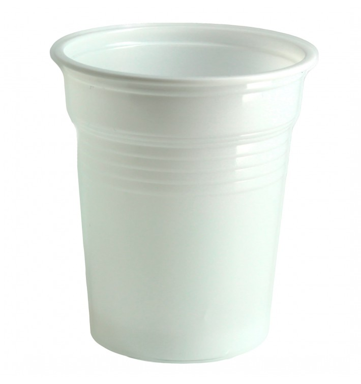 Vaso de Plastico PS Blanco 100ml Ø5,7cm (4800 Uds)