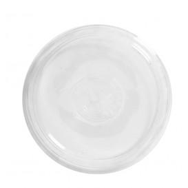 Tapa de Plástico PS Vasos 350, 400 y 500ml Ø8,3cm (100 Uds)