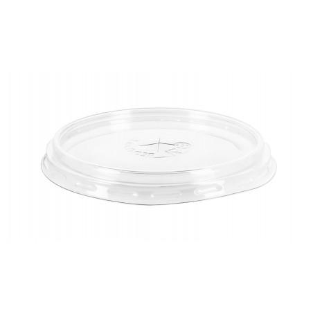 Tapa de Plastico PS Transparente Vaso 575ml Ø9,4cm (1000 Uds)