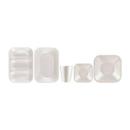 "Vaso de Plastico PP ""X-Table"" Perla 320ml (8 Uds)"