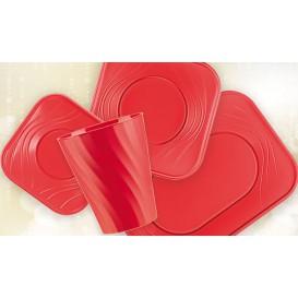 """Vaso de Plastico PP """"X-Table"""" Rojo 320ml (8 Uds)"""