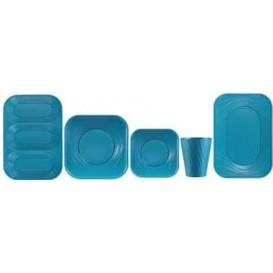 "Vaso de Plastico PP ""X-Table"" Turquesa 320ml (8 Uds)"