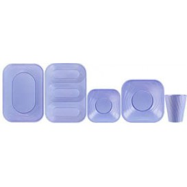 "Vaso de Plastico PP ""X-Table"" Violeta 320ml (128 Uds)"