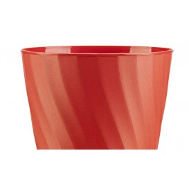 "Vaso de Plastico PP ""X-Table"" Naranja 320ml (8 Uds)"