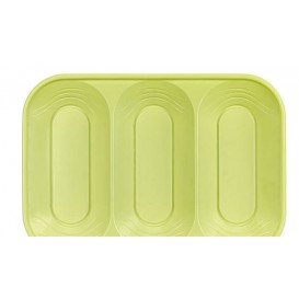 "Bandeja de Plastico PP ""X-Table"" 3C Lima 330x230mm (2 Uds)"