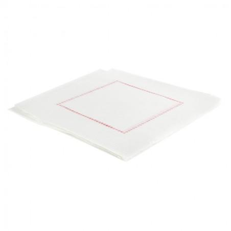 Servilleta Plana de Papel Sulfito Blanca 15x15cm (750 Uds)