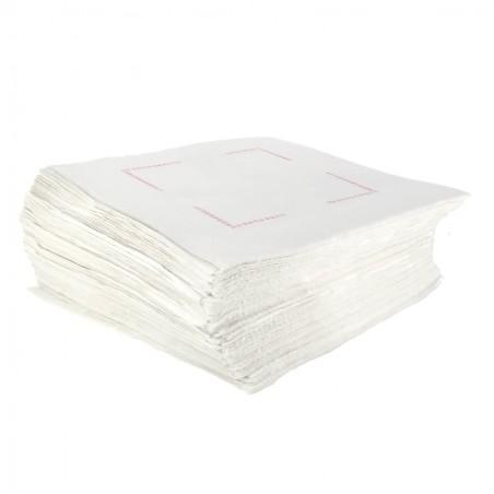 Servilleta de Papel Sulfito Blanca 25x25cm (7500 Uds)