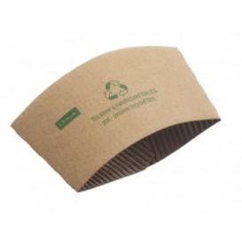 Funda para Vasos de Cartón Corrugada 8 Oz (100 Uds)