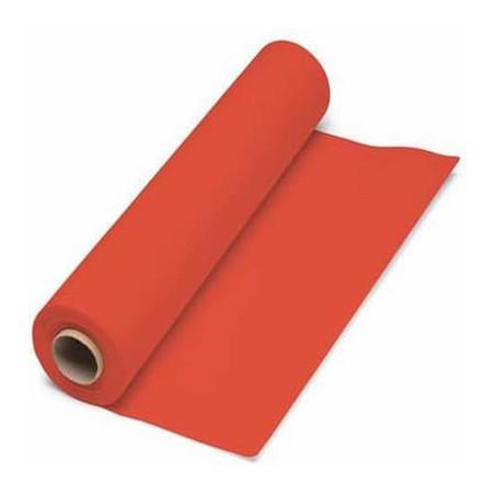 Mantel de Papel Rollo Rojo 1x100m. 40g (6 Uds)