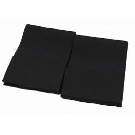 Servilletas de Papel Miniservis Negro 17x17cm (160 Uds)