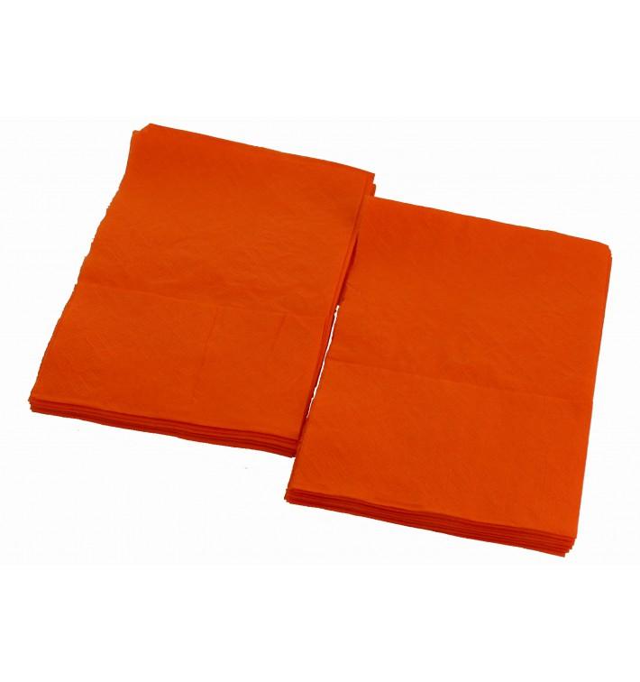 Servilletas de Papel Miniservis Naranja 17x17cm (4800 Uds)