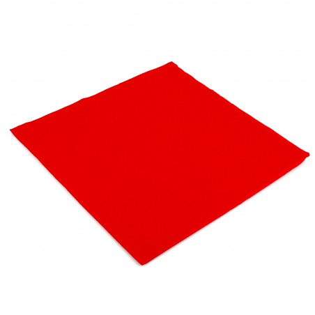 Servilleta de Papel Rojo 2C Punta-Punta 33x33cm (50 Uds)