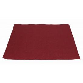 Mantel Individual de Papel 30x40cm Burdeos 40g (1.000 Uds)