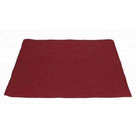 Mantel Individual de Papel Burdeos 30x40cm 40g/m² (500 Uds)