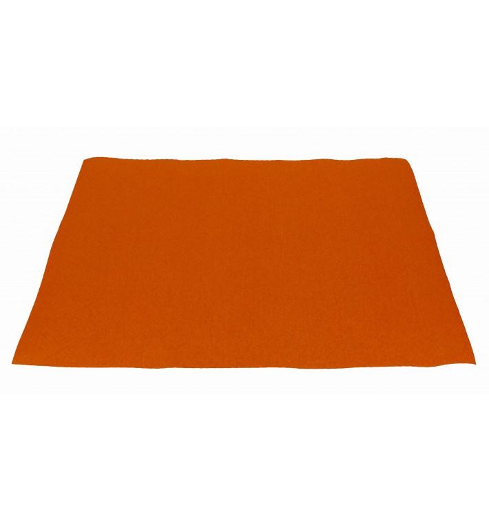 Mantel Individual de Papel 30x40cm Naranja 40g (1.000 Uds)