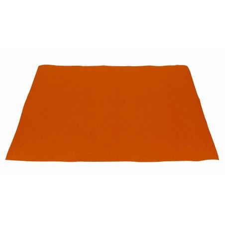 Mantel Individual de Papel Naranja 30x40cm 40g/m² (500 Uds)