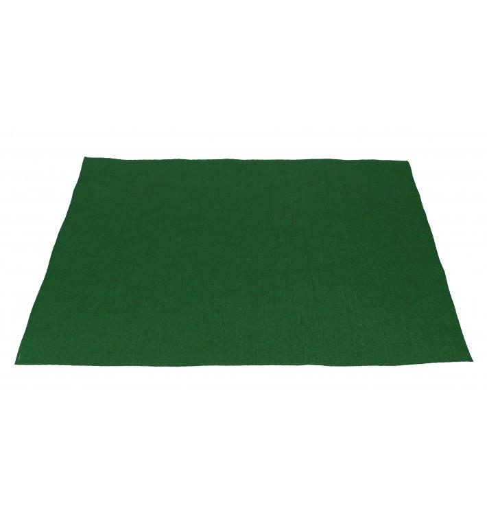 Mantel Individual de Papel 30x40cm Verde 40g (1.000 Uds)