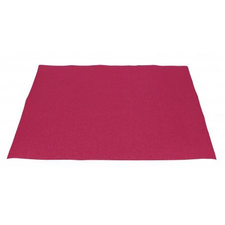 Mantel Individual de Papel Fucsia 30x40cm 40g/m² (500 Uds)