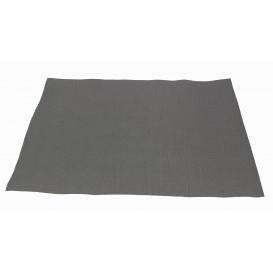 Mantel Individual de Papel 30x40cm Gris 40g (1.000 Uds)