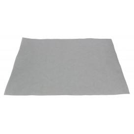 Mantel Individual de Papel 30x40cm Plata 50g (500 Uds)