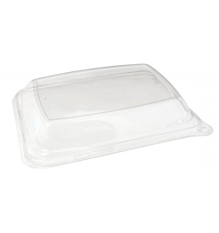 Tapa PET para Envase Caña de Azúcar 20x14cm (50 Uds)