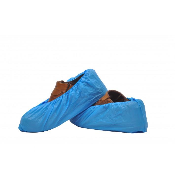 Cubrezapatos en Polietileno CPE G160 Azul (100 Uds)