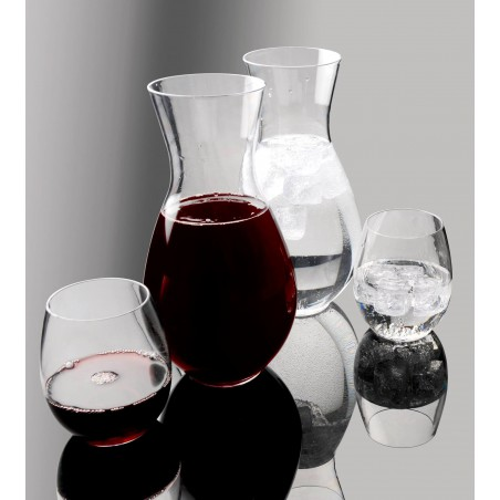 Jarra de Plastico Transparente TT 1000ml (4 Uds)