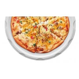 Plato de Plastico PS para Pizza Blanco 320 mm (500 Uds)