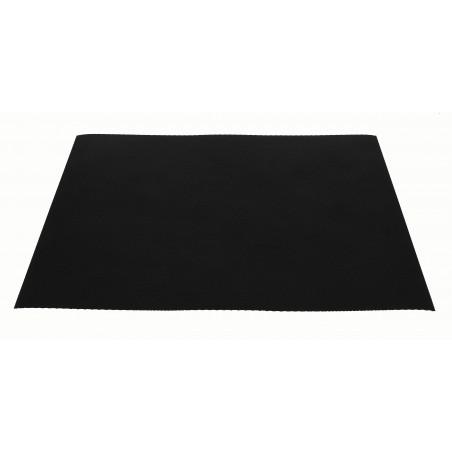 Mantel Individual Reutilizable Negro 30x40cm 250g (150 Uds)