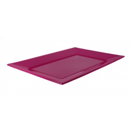 Bandeja de Plastico Fucsia 330x225mm (3 Uds)