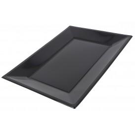 Bandeja de Plastico Negro 330x225mm (25 Uds)