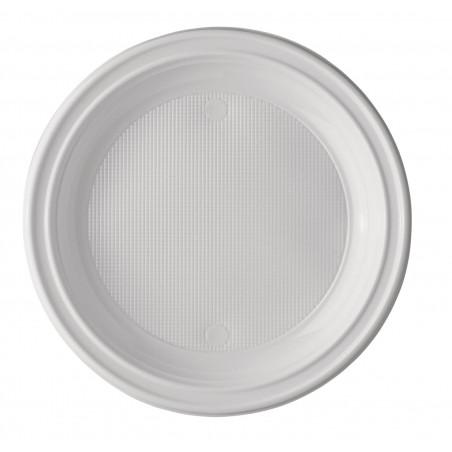 Plato de Plastico PS 1 Compartimento 220 mm (1400 Uds)