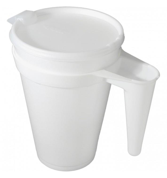 Jarra Térmica Desechable Foam 32Oz/960 ml Ø11,7cm (500 Uds)