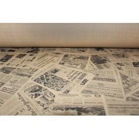 "Mantel Papel Rollo Kraft ""Prensa"" 1,2x100m 37g (6 Uds)"