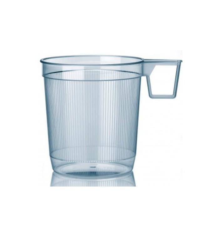 Taza de Plastico Rígida Transparente 250 ml (1000 Uds)