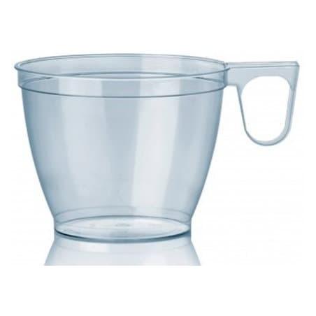 Taza de Plastico Transparente 180ml (50 Unidades)