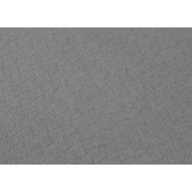 Mantel de Papel Cortado 1x1 Metro Gris 40g (400 Uds)