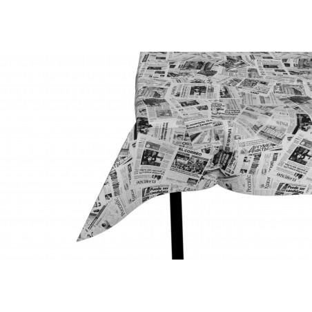 """Mantel de Papel Cortado 1x1m """"Prensa"""" 37g (400 Uds)"""