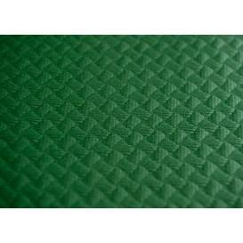 Mantel de Papel Cortado 1x1 Metro Verde 40g (400 Uds)