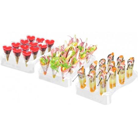 Conos Slice 55ml con Stand 180x260 mm (5 Kits)