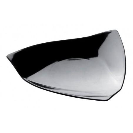 Plato Degustacion Vela Negro 8,5x8,5 cm (50 Uds)