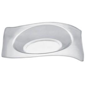 Plato Degustación Flat Transparente 8x6,6 cm (500 Uds)