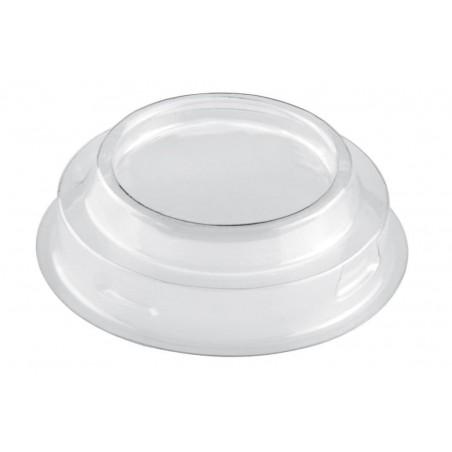 Tapa Vaso Maxi Conical Transp. PET 100ml (25 Uds)
