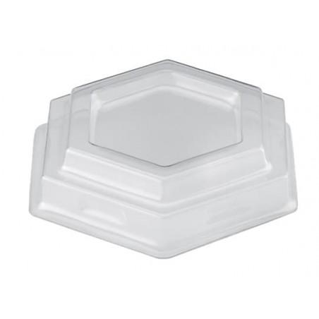 Tapa Bol Gardenia Dessert Transparente PET 7,8 cm (25 Uds)