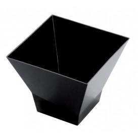 Vaso de Degustacion Pagoda Negro 90 ml (25 Uds)