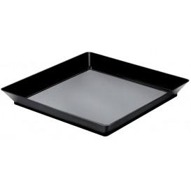 Bandeja Degustación Medium Negro 13x13 cm (12 Uds)