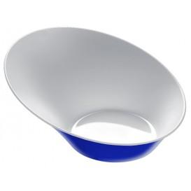 """Bol de Plástico """"Sodo"""" Blanco y Multicolor 50 ml (8 Unidades)"""