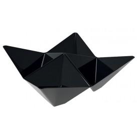 Bol Degustación Origami PS Negro 103x103mm (25 Uds)