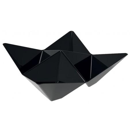 Bol Degustación Origami PS Negro 103x103mm (500 Uds)